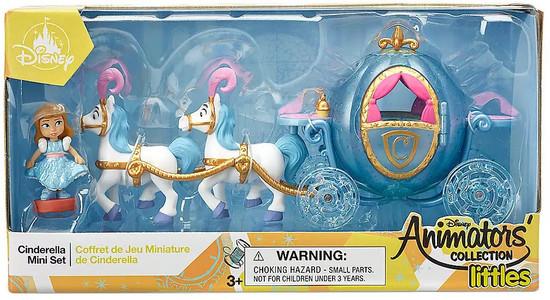 Disney Littles Animators' Collection Cinderella Exclusive Mini Set