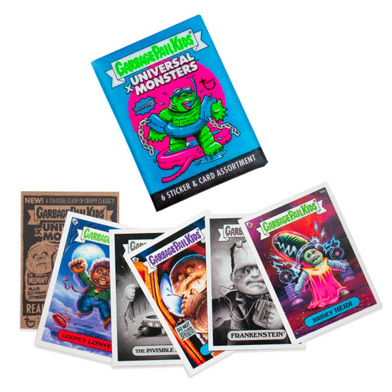 Garbage Pail Kids Wave 3 Universal Monsters Trading Card Pack