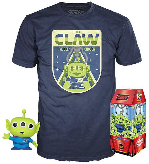 Funko Disney / Pixar Toy Story POP! Disney The Claw Exclusive Vinyl Figure & T-Shirt [X-Large]