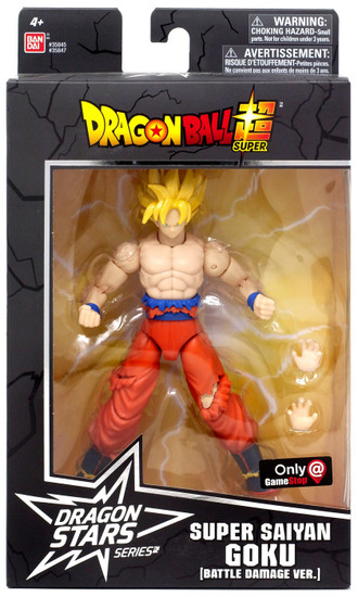 Dragon Ball Super Dragon Stars Series Super Saiyan Goku Exclusive Action Figure [Battle Damged Ver.]