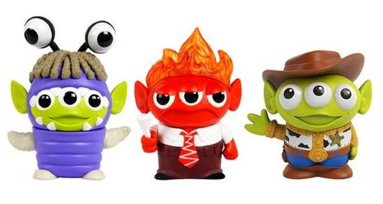 Disney / Pixar Toy Story Alien Remix Anger, Boo & Woody 3-Inch Mini Figure 3-Pack