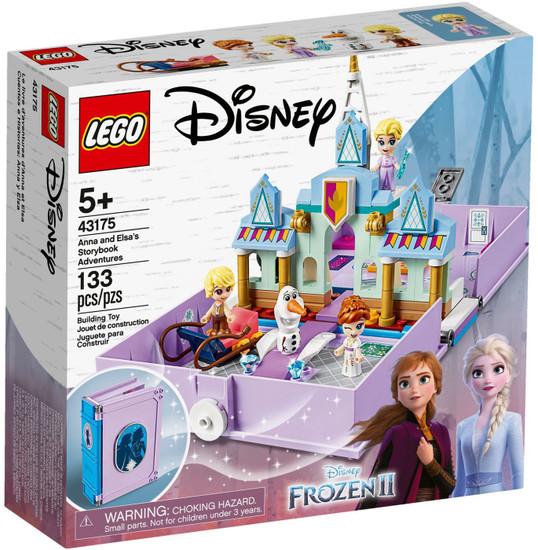LEGO Disney Princess Anna & Elsa's Storybook Adventures Set #43175