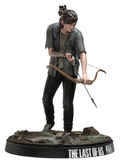 The Last of Us Part II Ellie 8-Inch Collectible Figure [With Bow]