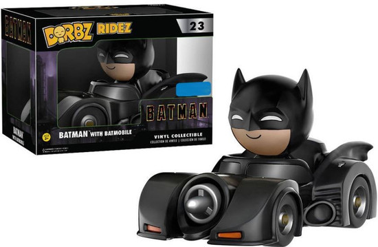 Funko DC Dorbz Ridez Batman with Batmobile Exclusive Vinyl Collectible #23 [Damaged Package]