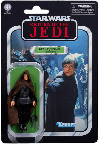 Star Wars Return of the Jedi 2020 Vintage Collection Wave 2 Luke Skywalker Action Figure [Jedi Knight]