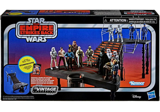 Star Wars The Empire Strikes Back Vintage Collection Carbon Freezing Chamber Playset [Stormtrooper Figure & Han Solo in Carbonite Block]