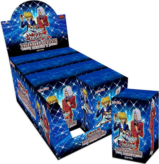 YuGiOh Trading Card Game Legendary Duelists Season 1 Blaster DISPLAY Box [8 Units]