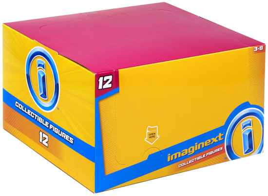 Fisher Price Imaginext Series 12 Collectible Figure Mystery Box [16 Packs]