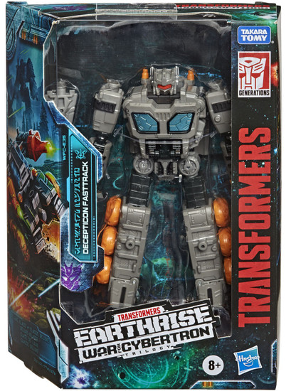 Transformers Generations War for Cybertron: Earthrise Fasttrack Deluxe Action Figure
