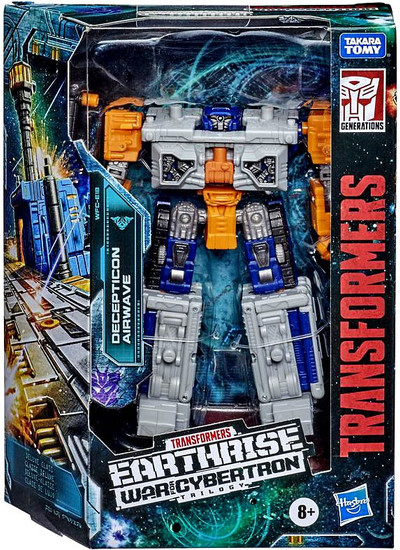 Transformers Generations Earthrise: War for Cybertron Trilogy Airwave Deluxe Action Figure