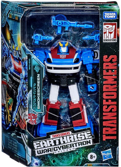Transformers Generations Earthrise: War for Cybertron Trilogy Smokescreen Deluxe Action Figure