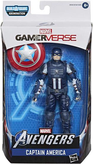 Gamerverse Marvel Legends Abomination Series Captain America Action Figure