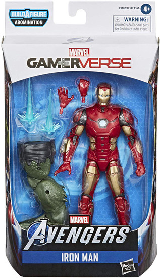Gamerverse Marvel Legends Abomination Series Iron Man Action Figure