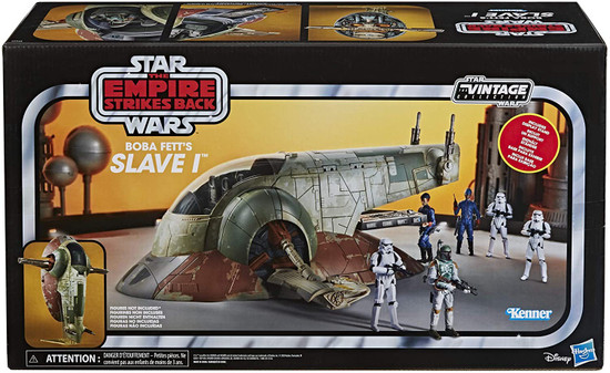 Star Wars The Empire Strikes Back Vintage Collection Boba Fett's Slave 1 Action Figure Vehicle (Pre-Order ships May)