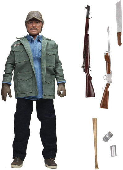 NECA Jaws Sam Quint Clothed Action Figure