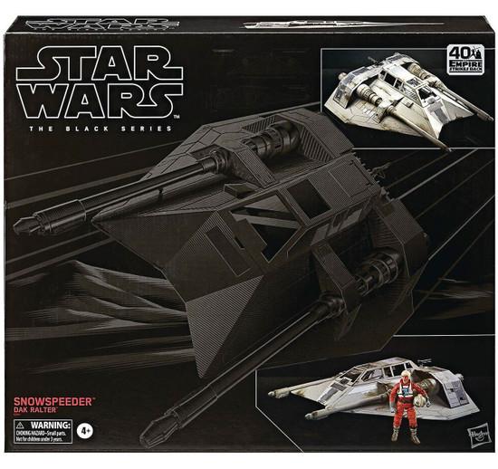 Star Wars Rebels Black Series Snowspeeder with Dak Ralter Action Figure Vehicle