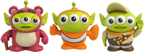Disney / Pixar Toy Story Alien Remix Lotso, Nemo & Russell 3-Inch Mini Figure 3-Pack