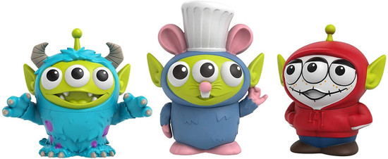 Disney / Pixar Toy Story Alien Remix Miguel, Sulley & Remy Exclusive 3-Inch Mini Figure 3-Pack