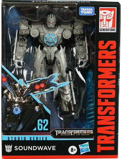 Transformers Generations Studio Series Soundwave Deluxe Action Figure #62 [Revenge of the Fallen]