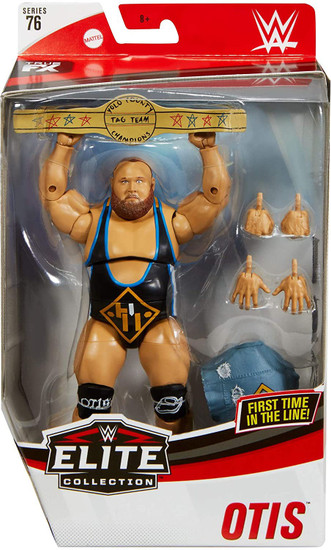 WWE Wrestling Elite Collection Series 76 Heavy Machinery Otis Action Figure