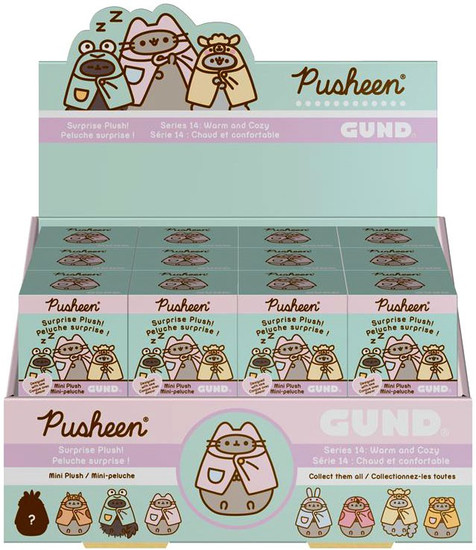 Pusheen Series 14 Warm & Cozy Mystery Box [24 Packs]