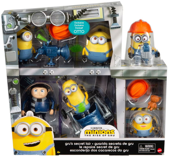 Minions Rise of Gru Gru's Secret Lair Exclusive Story Pack