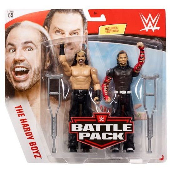 WWE Wrestling Battle Pack Series 65 Matt & Jeff Hardy Action Figure 2-Pack [Hardy Boyz] (Pre-Order ships April)