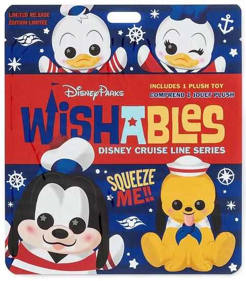 Wishables Disney Cruise Line Exclusive 5-Inch Micro Plush Mystery Pack [1 RANDOM Figure]