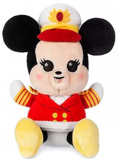 Wishables Disney Cruise Line Captain Minnie 5-Inch Micro Plush