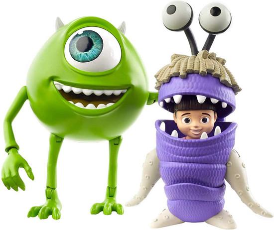 Disney / Pixar Monsters Inc Core Mike Wazowski & Boo Action Figure 2-Pack