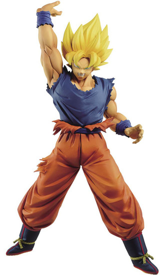 Dragon Ball Z Maximatic Super Siayan Goku 9.8-Inch Collectible PVC Figure #04