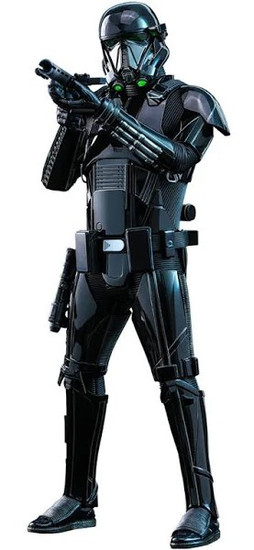 Star Wars The Mandalorian Death Trooper Collectible Figure