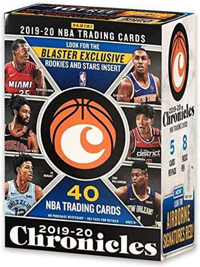 NBA Panini 2019-20 Chronicles Basketball Trading Card BLASTER Box [8 Packs]