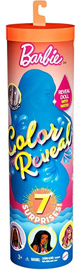 Color Reveal Sunny N' Cool Beach Series Barbie Surprise Doll