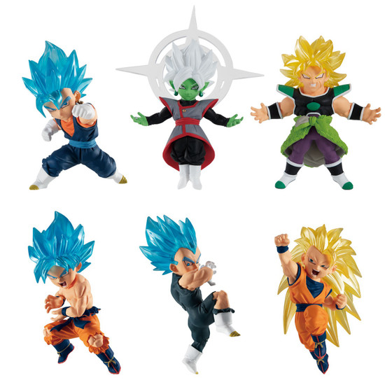Dragon Ball Super Adverge Motion Wave 4 Box of 10 Mini Figures