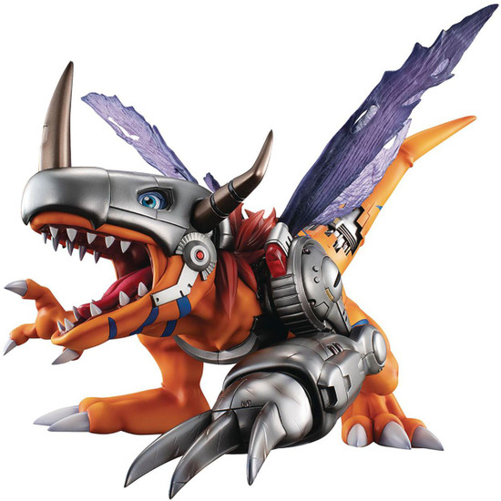 Digimon Adventure GEM Series Metalgreymon 8.6-Inch Collectible PVC Statue