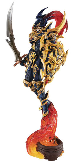 YuGiOh Monster Arts Works Chaos Soldier 11.8-Inch Collectible PVC Figure