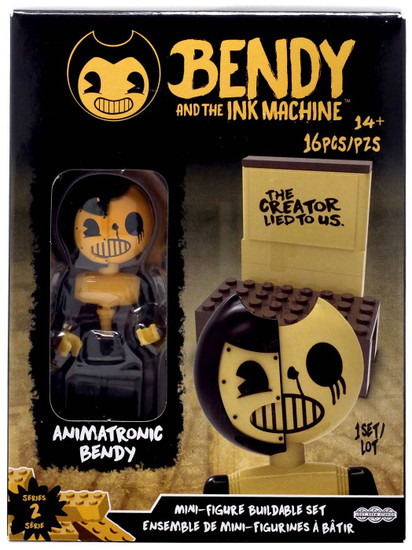 Bendy and the Ink Machine Series 2 Mini Figure Animatronic Bendy Buildable Set