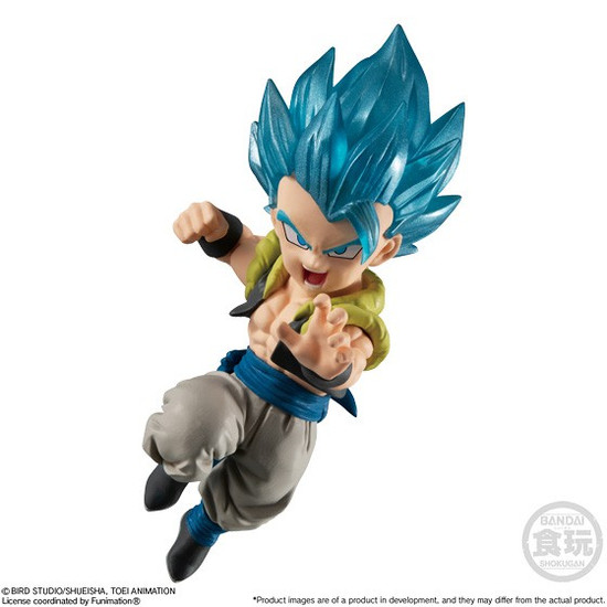 Dragon Ball Super Adverge Motion Wave 2 Super Saiyan Blue Gogeta 2-Inch Mini Figure