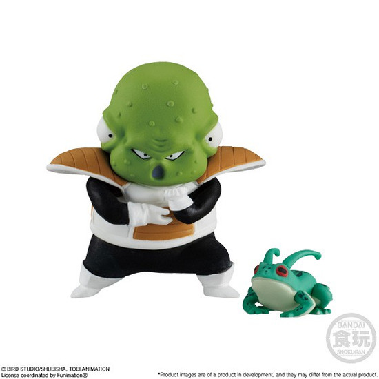 Dragon Ball Super Adverge Motion Wave 2 Guldo and Frog 2-Inch Mini Figure