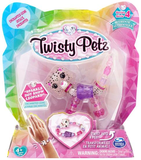 Twisty Petz Series 4 Sparkle Dot Snow Leopard Bracelet