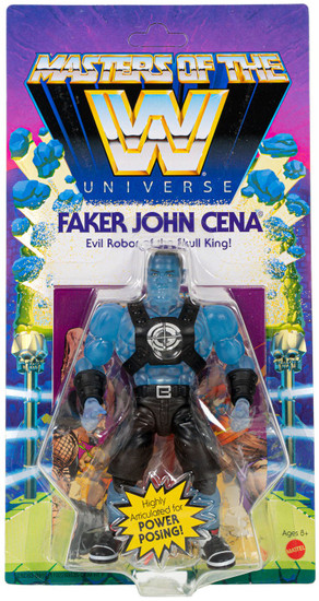 WWE Wrestling Masters of the WWE Universe Faker John Cena Exclusive Action Figure