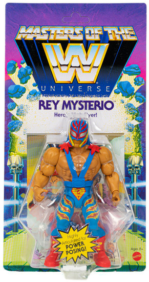 WWE Wrestling Masters of the WWE Universe Rey Mysterio Exclusive Action Figure