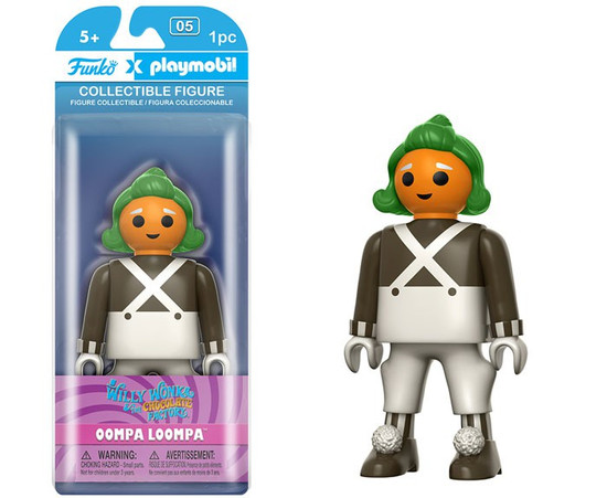 Charlie and the Chocolate Factory Funko Playmobil Oompa Loompa Action Figure [Damaged Package]