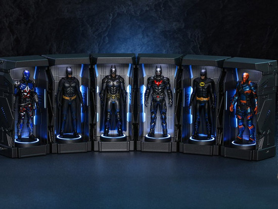 Batman Videogame Masterpiece Arkham Knight Armory 4.7-Inch Collectible Figure Accessory