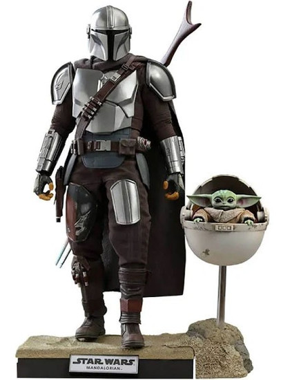 Star Wars The Mandalorian with The Child Collectible Figure [Deluxe Version] (Pre-Order ships April)