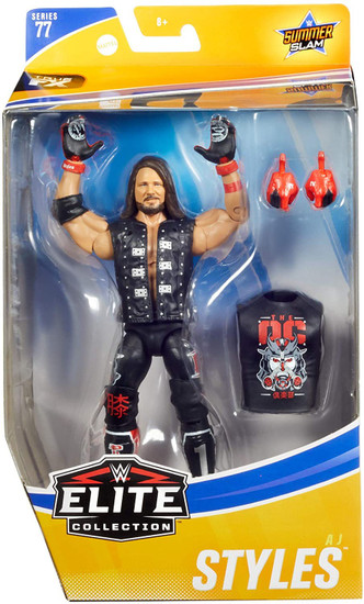 WWE Wrestling Elite Collection Series 77 AJ Styles Action Figure