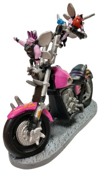 Disney / Pixar Onward Sprites on their motorcycle 3.5-Inch PVC Figure [Loose]
