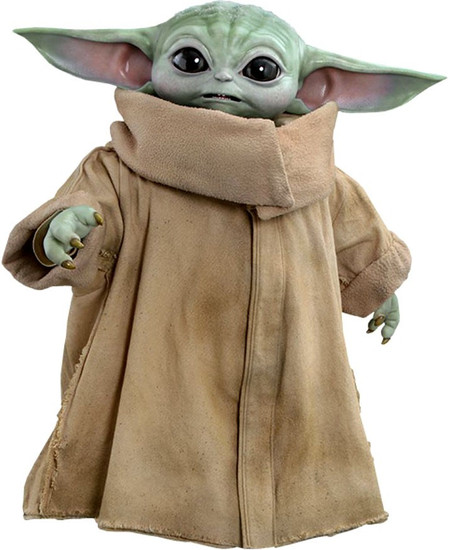 Star Wars The Mandalorian The Child Life-Size Collectible Figure LMS013 [Baby Yoda / Grogu, Non-Refundable Down Payment] (Pre-Order ships April)