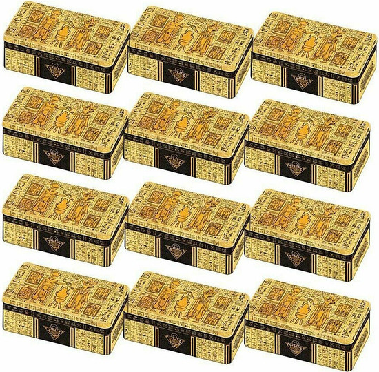 YuGiOh Trading Card Game 2020 Tin of the Lost Memories Case of 12 Tin Sets